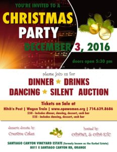 Come Celebrate! Dec 2nd - Last day to buy tickets!